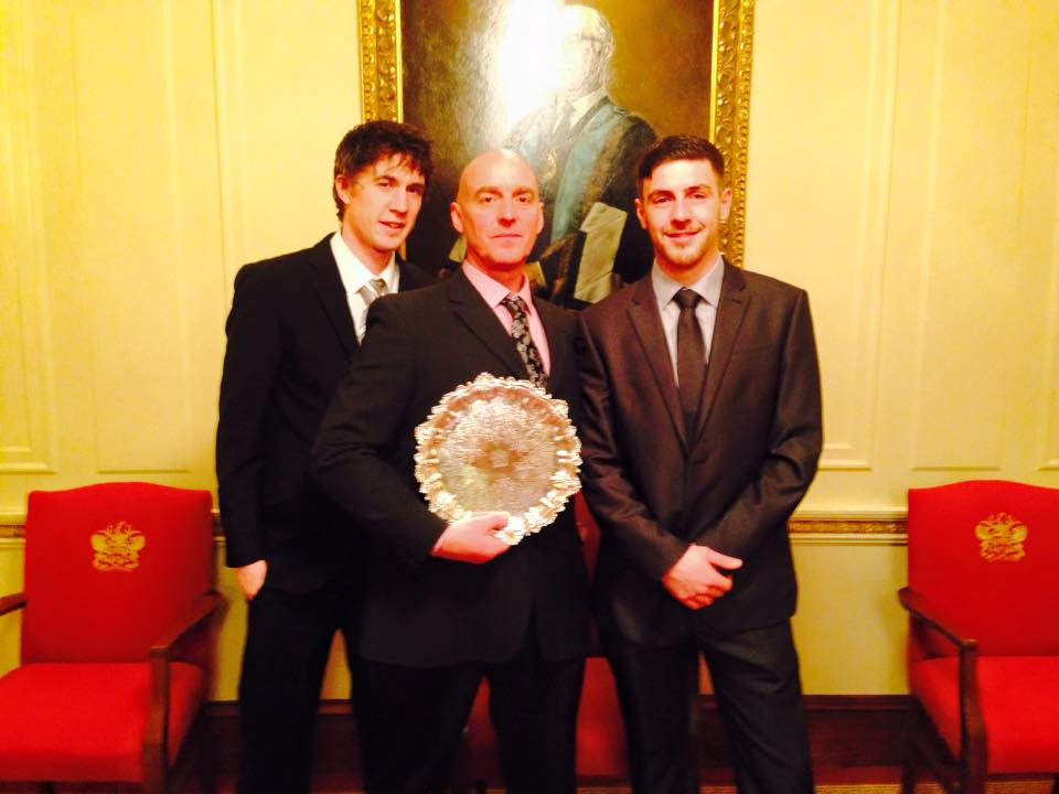 2014 plasterers award sean wheatley and team