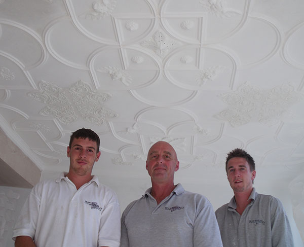 sean wheatley plastering team