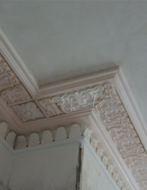 cornice internal plastering